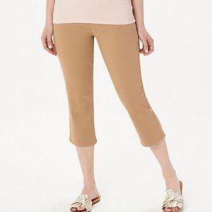 Denim & Co Soft Stretch Smooth Waist Crop Jeans